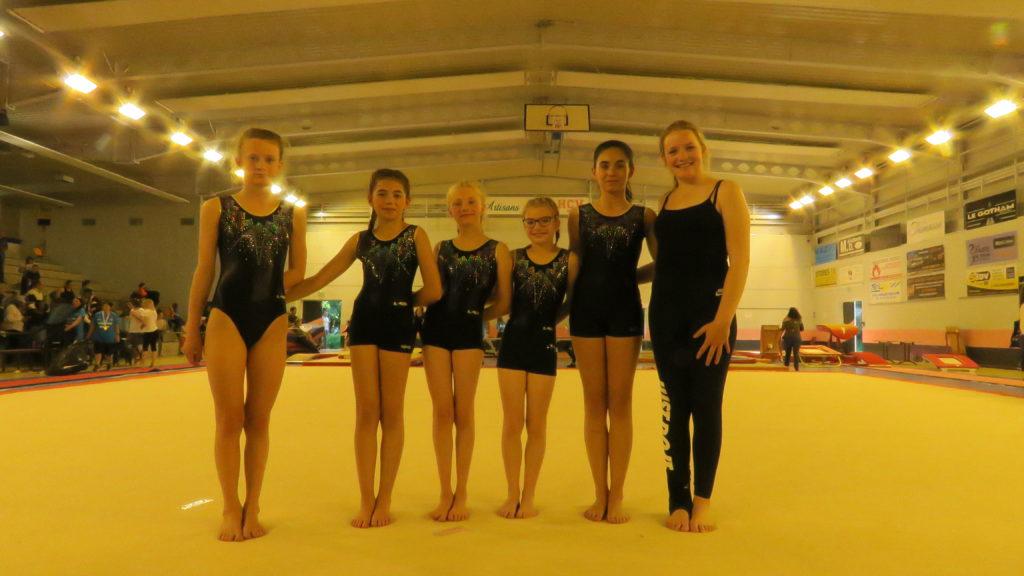 Finale Jeunes à Aurillac Gymnastique artistique