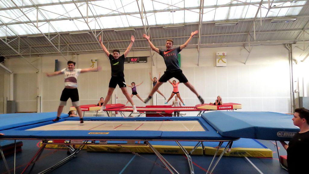Rentrée des groupes trampoline du Lundi